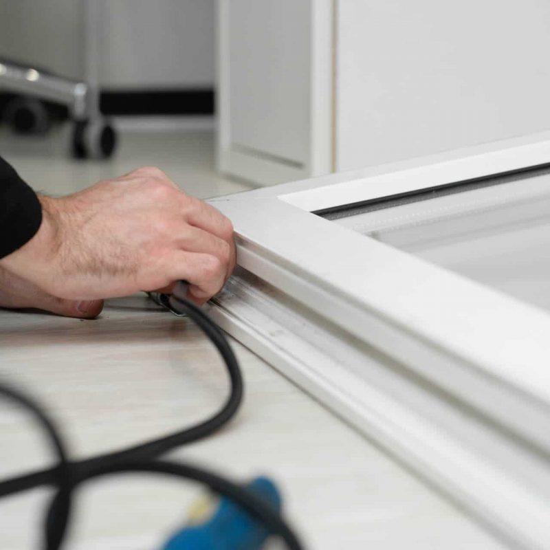 Gummidichtungen in PVC-Fenstern