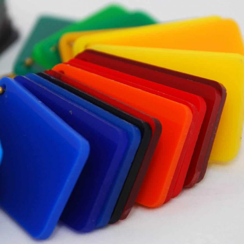 Multicolor-Kunststoff